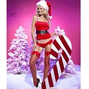 Naughty or Nice Santa Costume